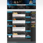 Gaming portal design no.1 by aevel