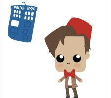 The Doctor and the Tardis by King-of-ROF