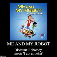 Me and my robot meme by JMK-Prime
