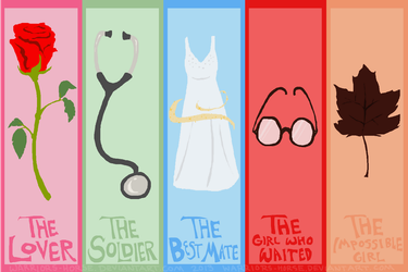 Doctor Who Companions by Teahorse