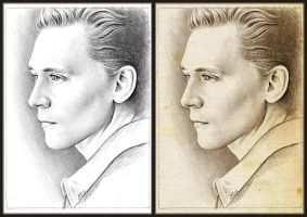 Tom Hiddleston sketch by Cataclysm-X