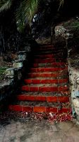 Stairs in Avalon by bironicheroine