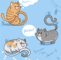 Cats by Beffana