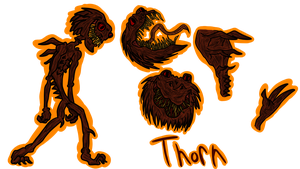 Thorn Character Referenc by Danbrofist
