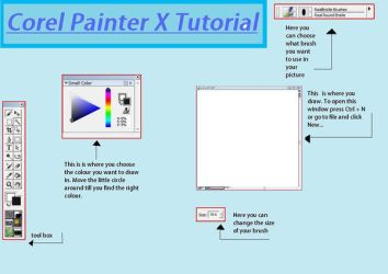 Corel Painter X Tutorial by passion4skating