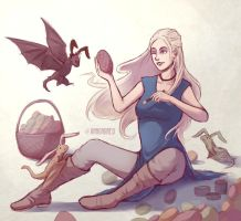 Dany's easter by Anngram