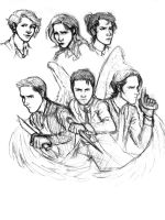 Spn Sketch by MexicanSushi