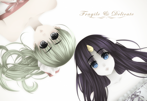 Fragile and Delicate by Pyocora-Tan