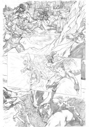 Legacy x-men samples pages 4 by Geniss