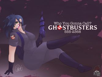 Ghostbusters Kylie Griffin by TheCartoonLoon