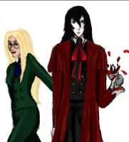 Hellsing: Coping a Feel by Rel-Rogue