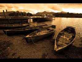 Derwent Boats by GMCPhotographics