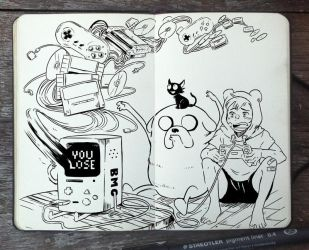 #299 Who wants to play videogames? by Picolo-kun