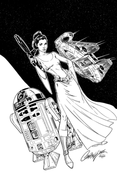 Leia - Inks by J-Skipper