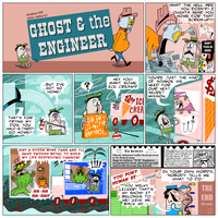 Ghost and The Engineer - The Comic by DeeIsBrowsing