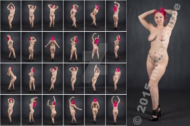 Stock: Xlcr Nude Pink Hair Heels - 24 Images by stockphotosource