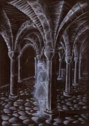 The secret of the crypt by DreamyNaria