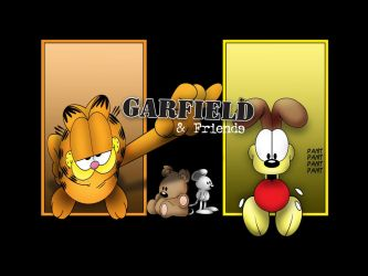 Garfield and Friends by Fatboy72