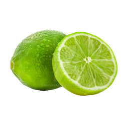 Lemons lime on a transparent background. by PRUSSIAART