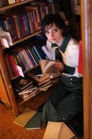 At the library by ormeli