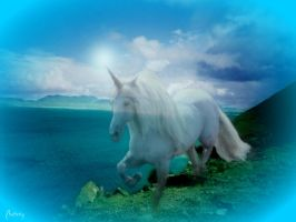 Mystical Unicorn by Chatterly