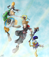 Kingdom Hearts 3 by MicroPixels