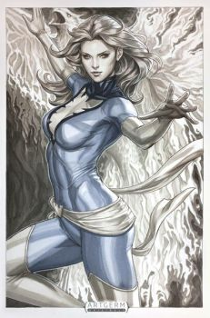 Phoenix Arise by Artgerm