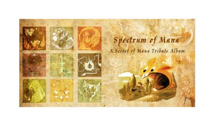 Spectrum of Mana: Album Book Back and Cover by LightningArts