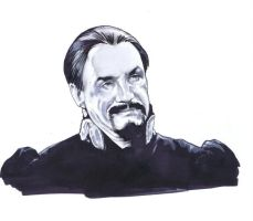 Anthony Ainley by jlfletch