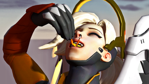 Mercy Noms Tracer by 3D-Giantess-Studios