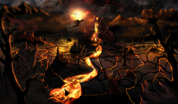 Between Magma by Arcaste