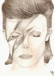 Aladdin Sane by coldplay11288 by therealdavidbowie