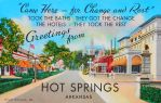 Vintage Arkansas - Hot Springs National Park by Yesterdays-Paper