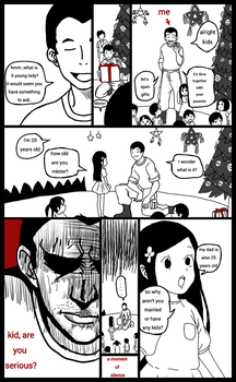 Me during Christmas party by cocoy1232