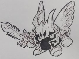 Morpho Knight: kirby star allies by theguywhodrawsalot