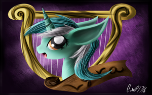Lyra Heartstrings Wallpaper 1 by CalebP1716