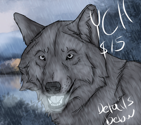 Rainy Wolf ych- SOLD by Alikrea