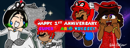 3DS Drawing 52 - Closet Life Mario Cosplay 1 by pandaserules97