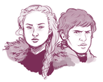 Sansa and Ramsay Practice by Brittyboo14