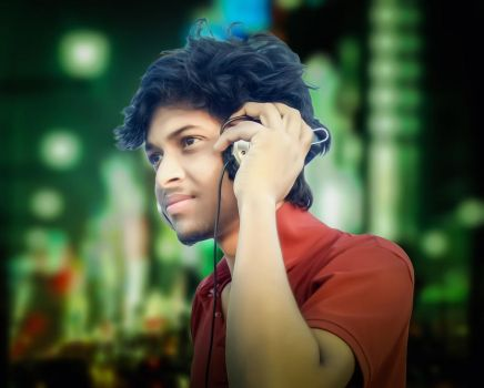 Headphone profile picture by eftherhossain