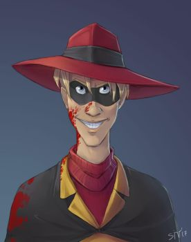 Negaduck humanization by LordSiverius
