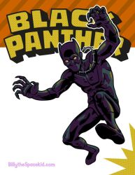 T'challa - The Black Panther by mike-loscalzo