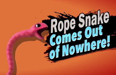 Rope Snake Comes Out Of Nowhere by Tail800