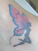 fairy tattoo by Derek-GothicTattoo