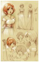 :Caged-Renouveau: Marry's concept and design by Doria-Plume