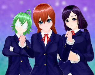 AA2- The Squad by sariberrystar
