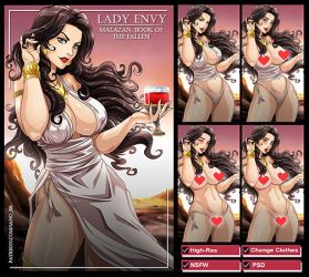 Lady Envy (Malazan: Book of the fallen) PACK by Sano-BR