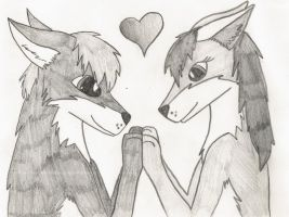 Wolf Love by thisistheonlyme