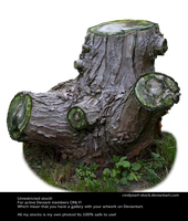 Stump By Cindysart-stock by CindysArt-Stock