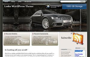 Cars Power wordpress theme by Loreleike